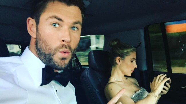 Chris Hemsworth and Elsa Pataky. Picture: Instagram