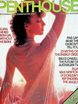 The first issue of Australian Penthouse in October, 1979.