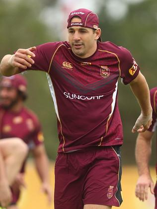 Billy Slater will be key in marshalling the Maroons defence.