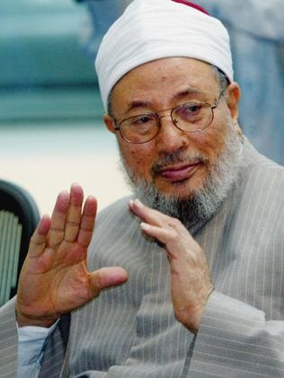 Controversial Muslim cleric Sheikh Yusuf Al-Qaradawi lives in Qatar. Picture: Graeme Robertson/Getty Images