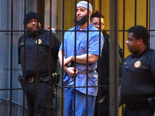 Syed was sentenced to 30 years in a Baltimore prison. Picture: Karl Merton Ferron/Baltimore Sun/TNS via Getty Images.