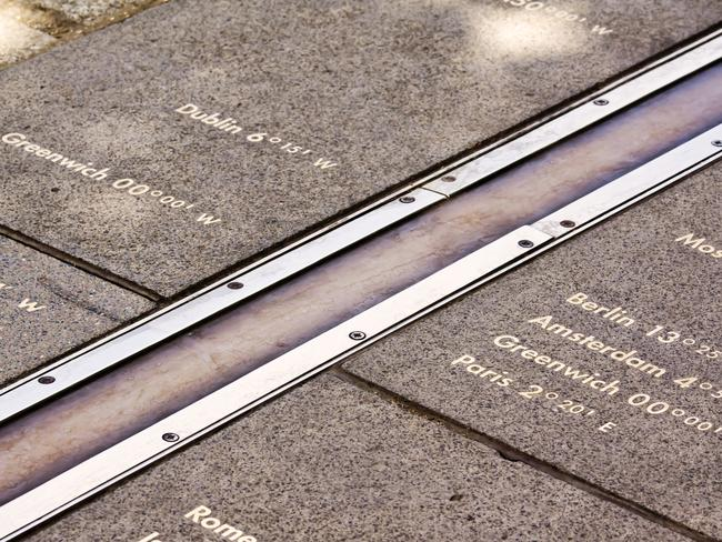 The real Greenwich Meridian line is about 100 metres from where you think it is.
