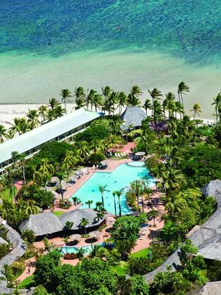The Outrigger on the Lagoon Resort in Fiji.