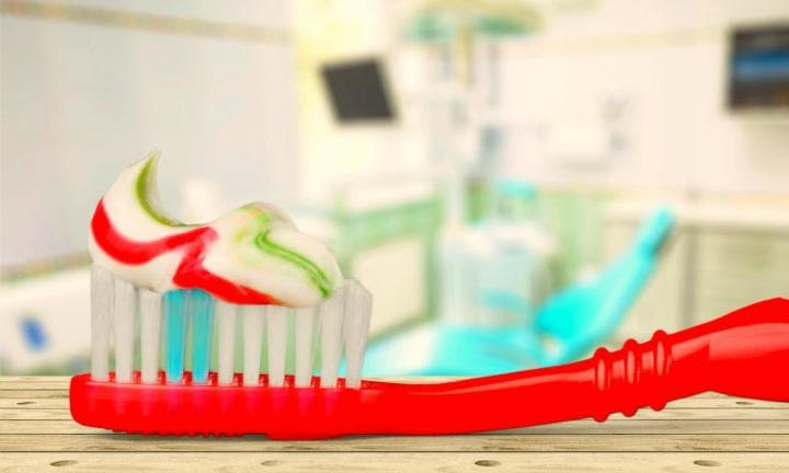 Women are using toothpaste as a pregnancy test