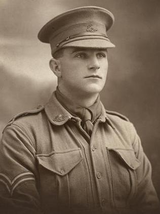 Sergeant David Samuel Anderson died in Fromelles. Picture: Australian War Memorial