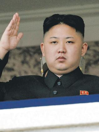 Kim Jong Un, not happy.