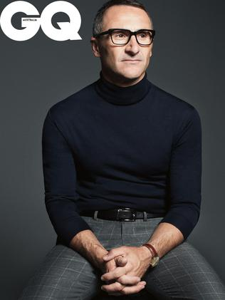 Greens leader Richard di Natale in GQ magazine.