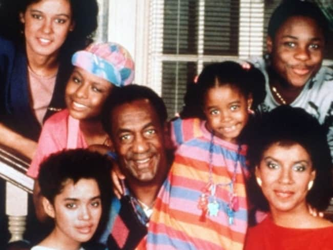 Cosby cast ... Sabrina LeBeauf, (Sondra Huxtable), Lisa Bonet (Denise Huxtable), Tempestt Bledsoe (Vanessa Huxtable), Bill Cosby (Cliff Huxtable), Keshia Knight Pulliam (Rudy Huxtable), Phylicia Rashad (Clair Huxtable) and Malcolm-Jamal Warner (Theo Huxtable).