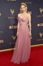 Vanessa Kirby attends the 69th Annual Primetime Emmy Awards at Microsoft Theater on September 17, 2017 in Los Angeles, California. Picture: Getty