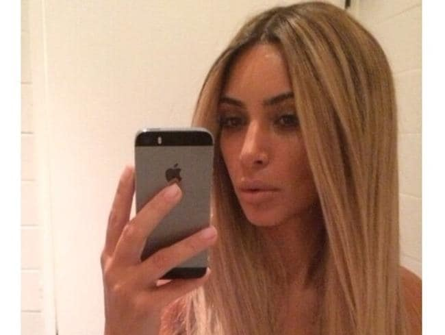 Relax, Kim Kardashian's latest look is only a wig. Picture: Instagram