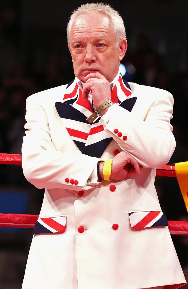 Frank Maloney in 2013 when he was promoting David Price's bout with Tony Thompson in Liverpool.