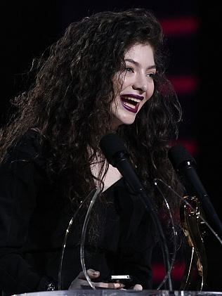 Lorde scores two Grammy noms