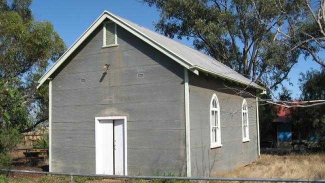 WITH a little divine intervention this former church in the Ootha township in Forbes NSW could be converted into a home. Picture: realestate.com.au