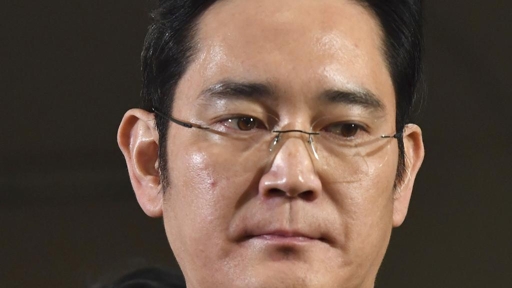 South Korea has been rocked by the arrest of Lee Jae-Yong. Picture: AP
