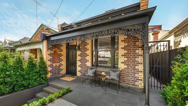 After: 64 Mason St, South Yarra, as it looks now. It sold for $3,075,000 in November 2017.