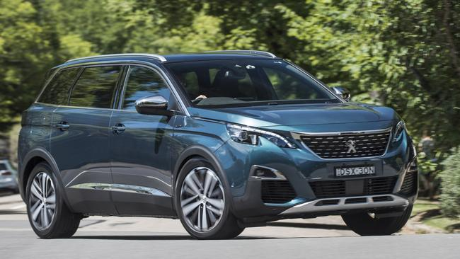 The Peugeot 5008 is an impressive first effort, but test drive and compare it against other seven-seat SUVs before you sign the deal. Picture: Supplied.