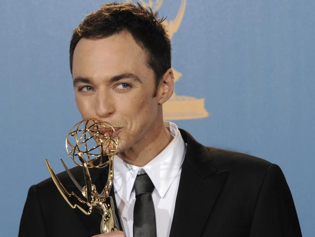 Jim Parsons has won three Emmys for  <i>The Big Bang Theory</i>. Picture: AP Photo/Chris Pizzello