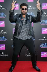Dan Sultan pictured arriving at the 2017 ARIA Awards held at The Star in Pyrmont in Sydney. Picture: Richard Dobson