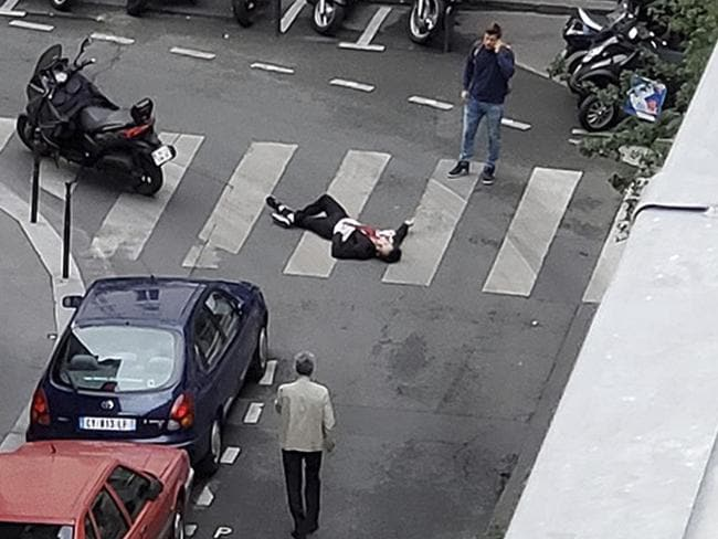An Islamic State supporter rampaged through the streets of Paris with a knife, killing one person and injuring four. Picture: Wladia Drummond via AP