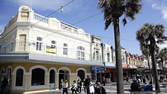 Starbucks has its sights set on the old Ocean Beach Tea Rooms in Manly, in a prime beachfront spot. Picture: Adam Yip