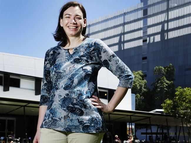 Aussie researcher Joanne MacDonald was a recipient of a grant from the Bill and Melinda Gates Foundation, funding the creation of a field test that detects Malaria, Dengue Fever and Zika in one test. Picture: Lachie Millard