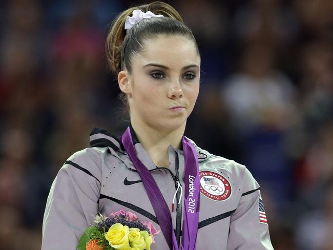 McKayla Maroney has also accused Larry Nasser. Picture: AP