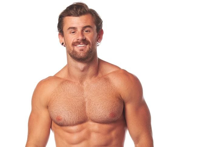 Ninja Warrior contestant Nathan McCallum, 27, Fitness and fashion blogger, NSW. Picture: Nine