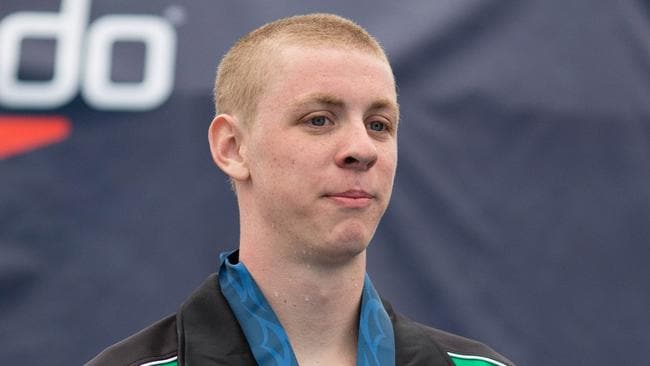 Brock Turner was a member of the Stanford University swim team. Picture: Timothy Binning/TheSwimPictures.com