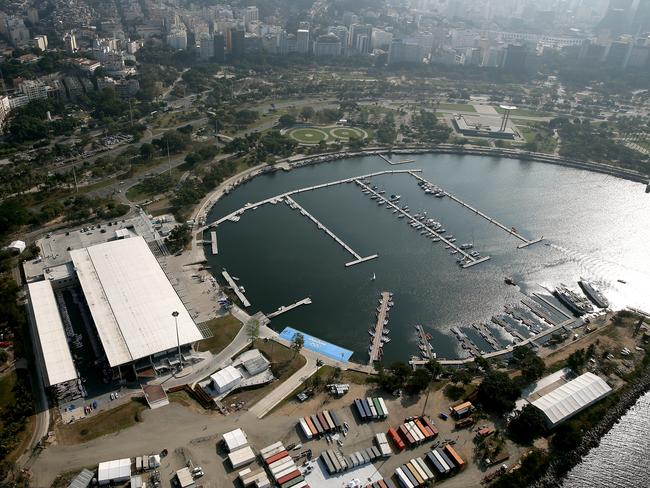 The Marina da Gloria is the Olympic sailing venue for the 2016. Picture: Matthew Stockman