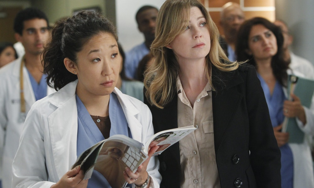 Ellen Pompeo on what it was really like behind the scenes of Grey's Anatomy