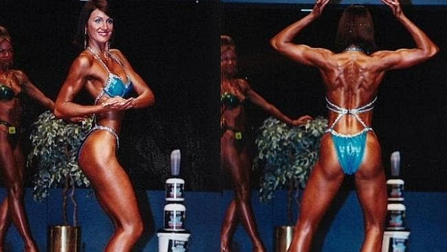 Natalie becomes a body sculpting champion. Pic: Natalie Sisson.
