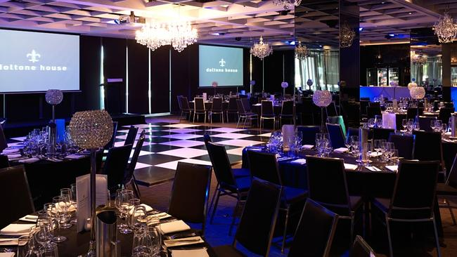 No seat for Josie: Doltone House, where last Thursday's Engadine High School formal was held. Picture: Supplied.