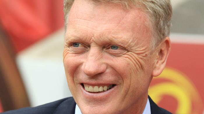 Sunderland's Scottish manager David Moyes smiles ahead of the English Premier League football match between Sunderland and Middlesbrough at the Stadium of Light in Sunderland, north-east England on August 21, 2016 Middlesbrough won the game 2-1. / AFP PHOTO / Lindsey PARNABY / RESTRICTED TO EDITORIAL USE. No use with unauthorized audio, video, data, fixture lists, club/league logos or 'live' services. Online in-match use limited to 75 images, no video emulation. No use in betting, games or single club/league/player publications. /