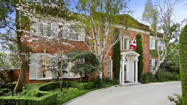 VICTORIA'S highest value individual house sale last year at Toorak.
