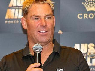 Shane Warne to open Aussie Millions poker tournament