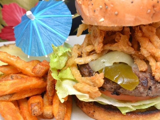 Cheeseburger in Paradise is hard to beat. Pic: Cheeseburger in Paradise Facebook.