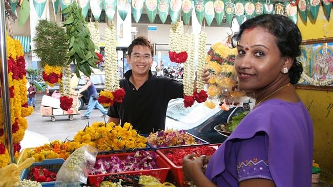 Little India is thriving day and night. Picture: Supplied