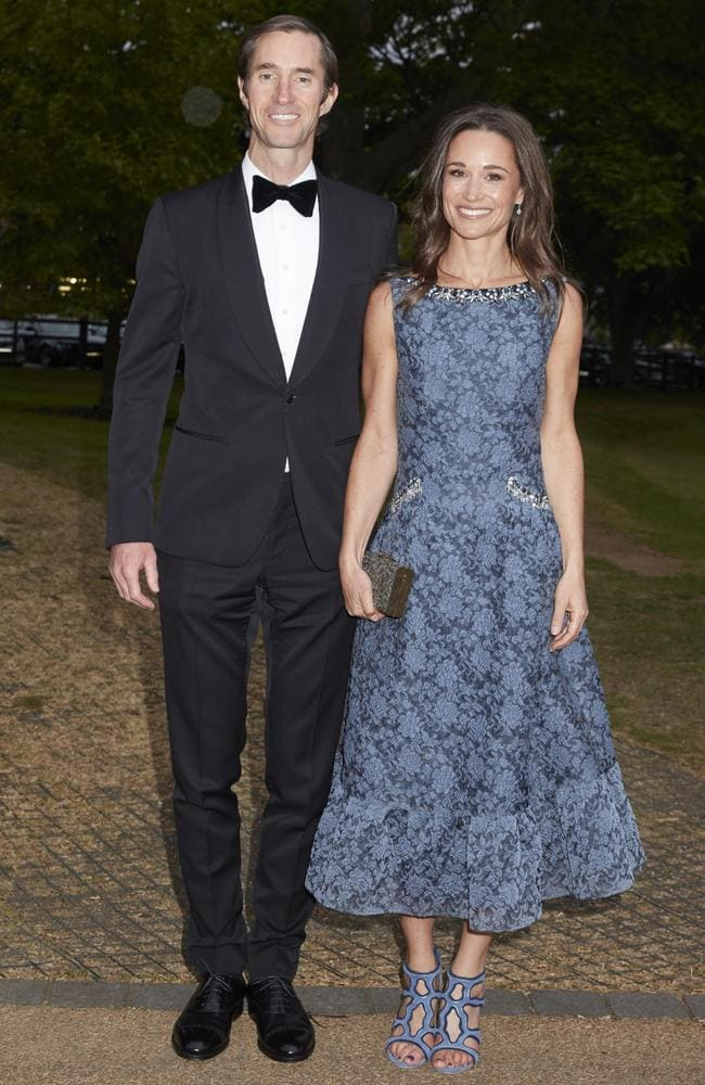 Pippa Middleton and her fiance, James Matthews are getting married. Picture: AustralScope.