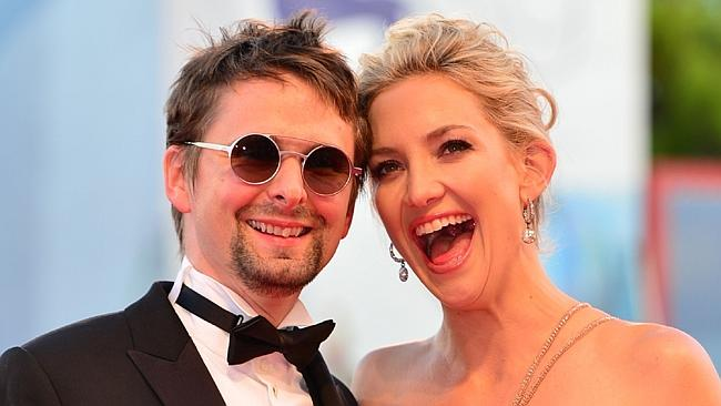 On the rocks? ... US actress Kate Hudson (R) and British musician Matt Bellamy are reportedly on the rocks.