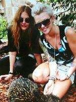 <p>Ruby's Twitpix... Ruby Rose at her 24th birthday at the Port Melbourne Lawn Bowls Club on Saturday, March 20, 2010</p>
