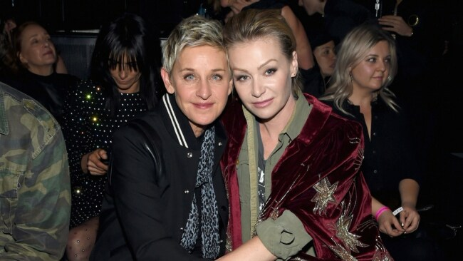 And the award for best Aussie Wife goes to Portia de Rossi. Photo: Getty