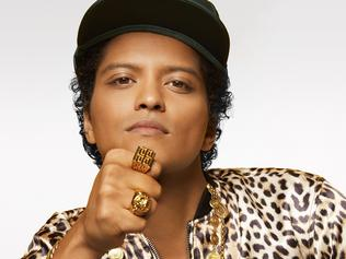 Singer Bruno Mars in 2016 photo to promote new album 24K Magic supplied by Warner Music