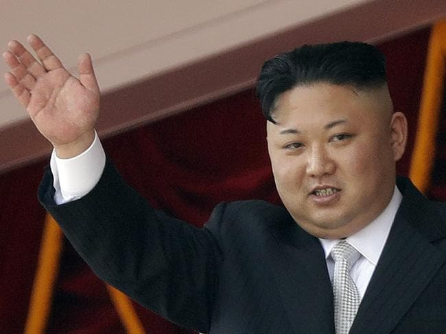 North Korean leader Kim Jong Un has fired another missile. Picture: AP