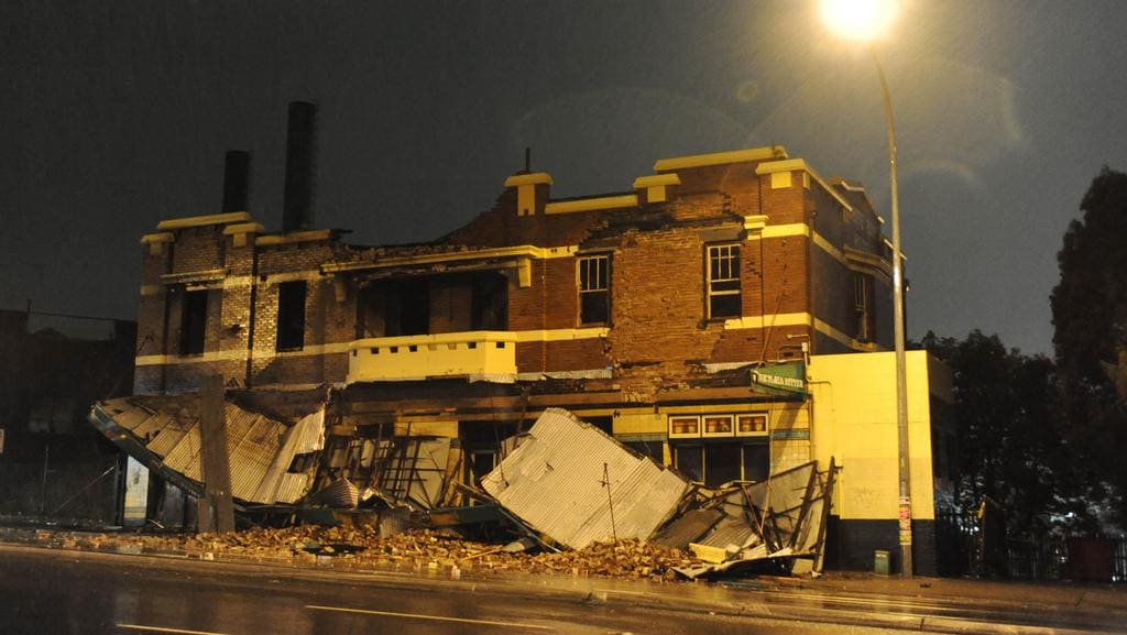 The Former White Bay Hotel On Victoria Road Rozelle Has Now Been Demolished For