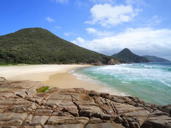 Zenith Beach at Nelsons Bay. Picture: Supplied