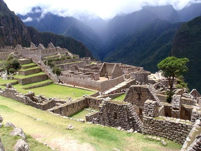 Machu Picchu in Peru. Credit: Kate Schneider