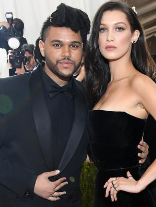 The Weeknd And Bella Hadid have reportedly rekindled their relationship. Picture: Getty
