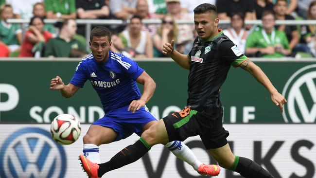 Not even Eden Hazard could inspire Chelsea in Germany.