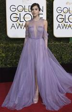 Hailee Steinfeld attends the 74th Annual Golden Globe Awards at The Beverly Hilton Hotel on January 8, 2017 in Beverly Hills, California. Picture: AP