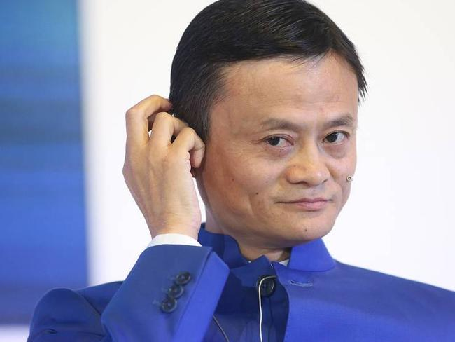 China's Alibaba is about to take Australia by storm. Pictured, CEO Jack Ma. Picture: Bloomberg News
